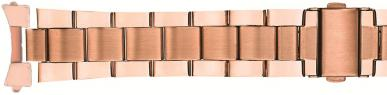 Buckle - Rose Gold Plated Band with 18, 20 & 22mm Curved Ends